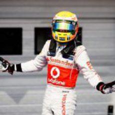 'Pole' y victoria para Lewis Hamilton en Hungría 2012