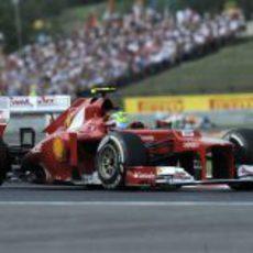 Felipe Massa terminó noveno en Hungaroring