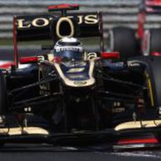 Kimi Räikkönen tuvo muy buen ritmo en Hungaroring