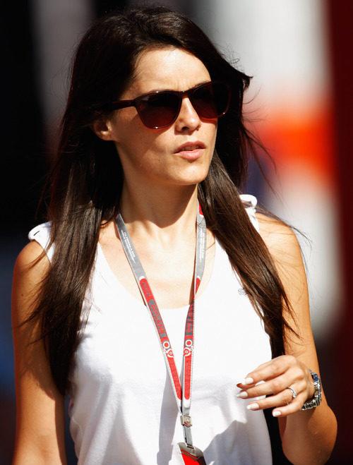 Marion Jolles en el GP de Hungría 2012