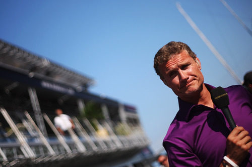 David Coulthard, reportero de la BBC