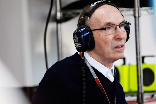 Frank Williams en el GP de Hungría 2012