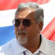 Vijay Mallya, presente en el Gran Premio de Hungría