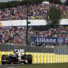 La recta de Hungaroring recibe a Kamui Kobayashi