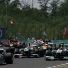 Nico Hülkenberg, Sergio Pérez, Nico Rosberg, Paul di Resta...