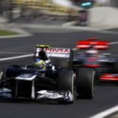 Bruno Senna, la pesadilla de Jenson Button