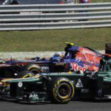 Heikki Kovalainen se empareja con Daniel Ricciardo