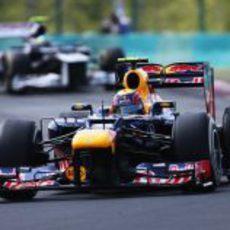 Mark Webber perdió puntos en Hungría