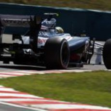 Bruno Senna completó un buen fin de semana en Hungría