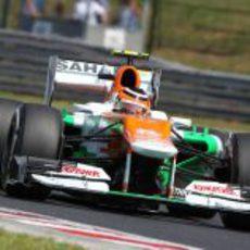 Nico Hülkenberg no entró en la Q3 del GP de Hungría