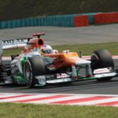 Paul di Resta no se metió en la Q3 en Hungría
