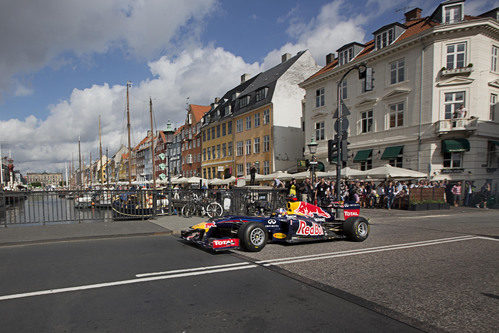 Copenhague recibe a David Coulthard y su Red Bull