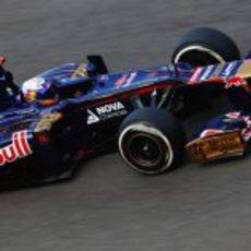 Daniel Ricciardo metió su STR7 en la Q2 en Bélgica