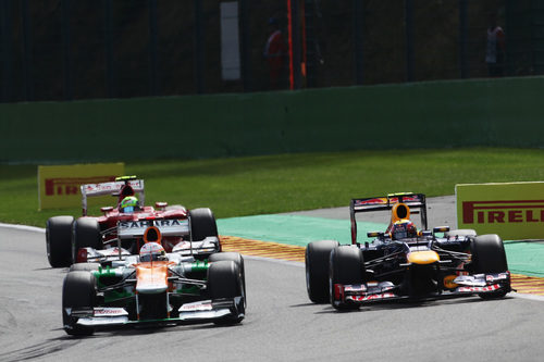 Paul di Resta pelea con Mark Webber