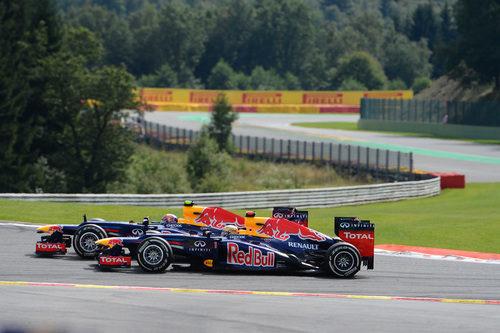 Duelo de compañeros de equipo en Red Bull