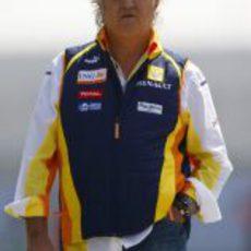 Briatore llega al circuito de China