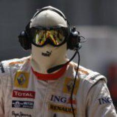 Un mecánico de Renault