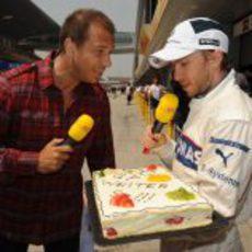 Heidfeld felicita a la cadena RTL