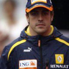 Alonso llega al GP de China