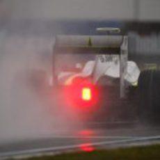 Barrichello en el GP de China