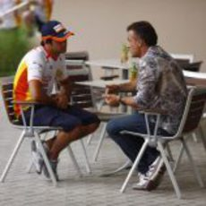 Piquet y Alesi