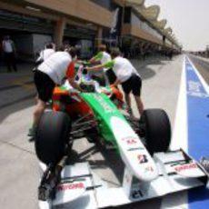 El Force India de Fisichella