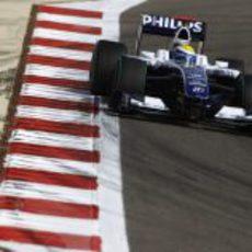 Rosberg en la pista