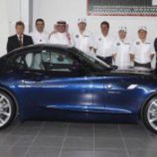 La presentación del BMW Z4