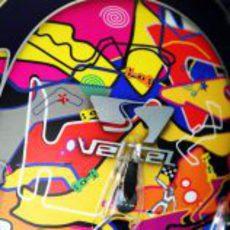 El casco de Vettel