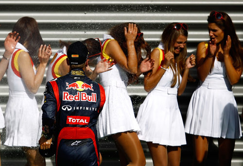 El pillo Sebastian Vettel