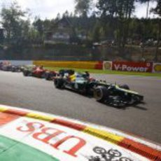 Ferrari y Red Bull por detrás de Caterham