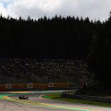 El majestuoso Spa recibe a Mark Webber