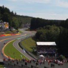 Eau Rouge, patrimonio de la Fórmula 1