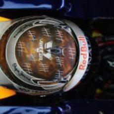 Casco número 50 de Sebastian Vettel