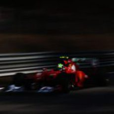 Felipe Massa rueda en el GP de Italia 2012