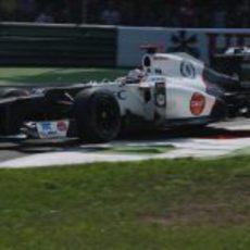 Kamui Kobayashi finalizó antes los Libres 2 del GP de Italia 2012