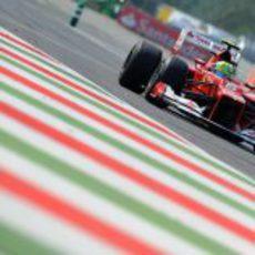 Felipe Massa tuvo buen ritmo en los entrenamientos de Monza