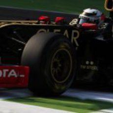 Kimi Räikkönen lo hizo bastante bien en el asfalto italiano de Monza