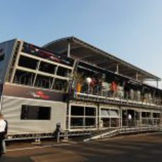 La 'Energy Station' de Red Bull y Toro Rosso