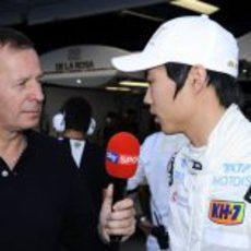 Martin Brundle entrevista a Ma Qing Hua