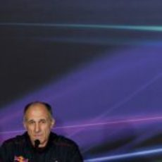 Franz Tost en la rueda de prensa de la FIA en Italia