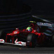 Felipe Massa en la clasificación del GP de Italia 2012