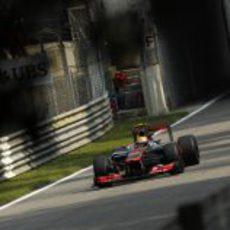 Lewis Hamilton logró la pole en el Gran Premio de Italia