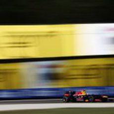 Sebastian Vettel aprieta los dientes en Monza 2012