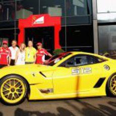 Ferrari entrega en Monza el 599XX Evo subastado