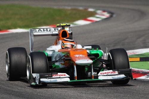 Mal día para Nico Hülkenberg en Monza