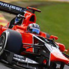 Timo Glock espera tener un buen sábado en Spa