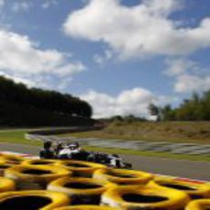 Pastor Maldonado hizo una gran actuación en la clasificación de Spa