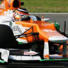 Nico Hülkenberg pone a prueba el VJM05 en Monza