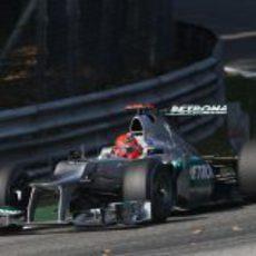 Michael Schumacher terminó quinto en la clasificación de Italia